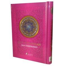 Daftar Harga Almahira Quran Hafalan Dan Terjemahan Pink Almahira
