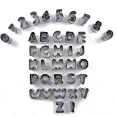 ... Biskuit Source · Abjad Huruf Nomor Kue Dekorasi Cetakan Set Cetakan Kue Fondant Pemotong Icing Intl
