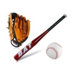Aluminium Paduan Pvc Baseball Bat Set Merah By Tomtoce.