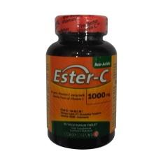 American Health GNC Ester-C with Citrus Bioflavonoids 500mg - 90 Tablet
