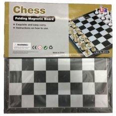 Promo Anekaimportdotcom Chess Folding Magnetic Board Papan Catur Large Akhir Tahun