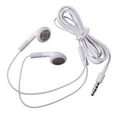 Jual Apple Original Earphone Iphone 4 4S Handsfree Loose Pack Putih Di Bawah Harga