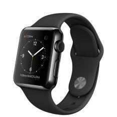 Beli Apple Watch Sport 38Mm Space Black Aluminium Case Black Band Hitam Lengkap