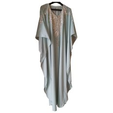 Jual Aps Kaftan India Biru Branded Original