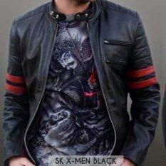 Review Arc Jaket Pria X Men Semi Kulit Hitam Arc Di Jawa Barat