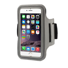 Armband Universal for All Smartphone Up 5 Inch - Silver