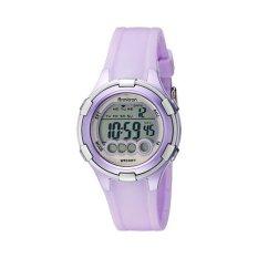 Armitron Sport Women's 45/7053LTG Digital Purple Resin-Strap Watch- Intl