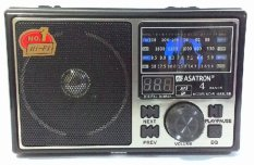 Review Asatron Radio R 1058 Usb 4 Band Am Fm Sw Terbaru