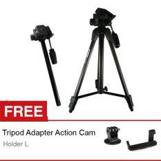 Jual Attanta Tripod Monopod Tvm 2239 Hitam Free Holder L Tripod Adapter Gopro Murah Di Jawa Barat