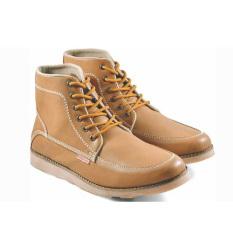 Jual Beli Azzura Sepatu Boots Pria 611 05 Brown