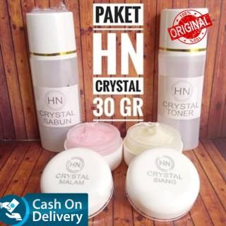 Cream HN CRYSTAL BESAR 30gr - 1 PAKET Isi Full - ASLI ORIGINAL 100% kosmetik original Krim Cream wajah glowing BPOM Cream Wajah bibit pemutih bibit cair infus kosmetik murah thumbnail