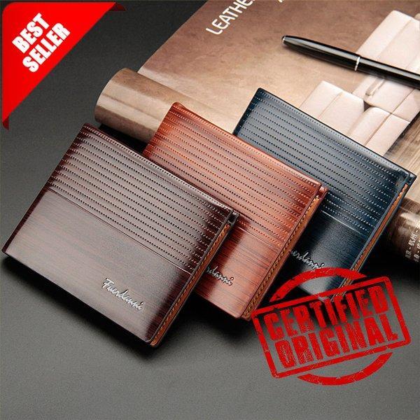 Dompet Impor Pria Fuerdanni Exclusive Cowo Leather Mens Wallet / Dompet Kulit Pria / Dompet Kartu By Fm Acc.