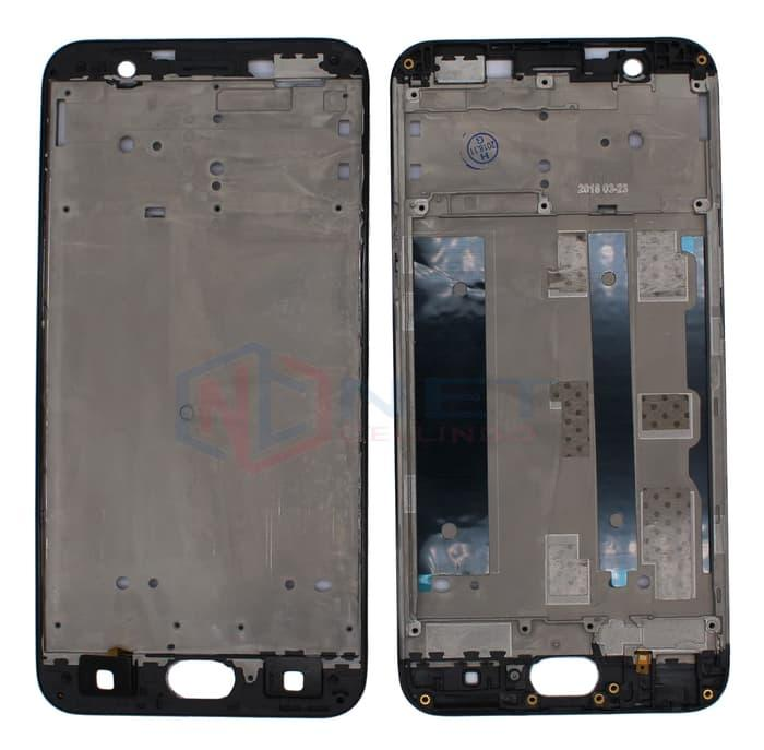FRAME LCD / TATAKAN BEZEL / TULANG CASSING OPPO A59T / F1S