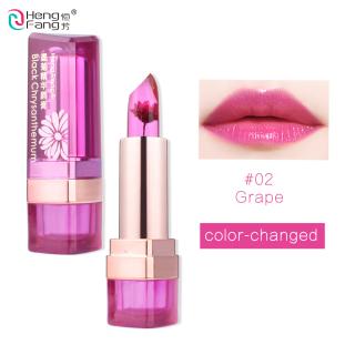 HengFang Black Chrysanthemum Temperature-changed Lip Balm Wednesday Moisturizer Lipstick H9266 thumbnail