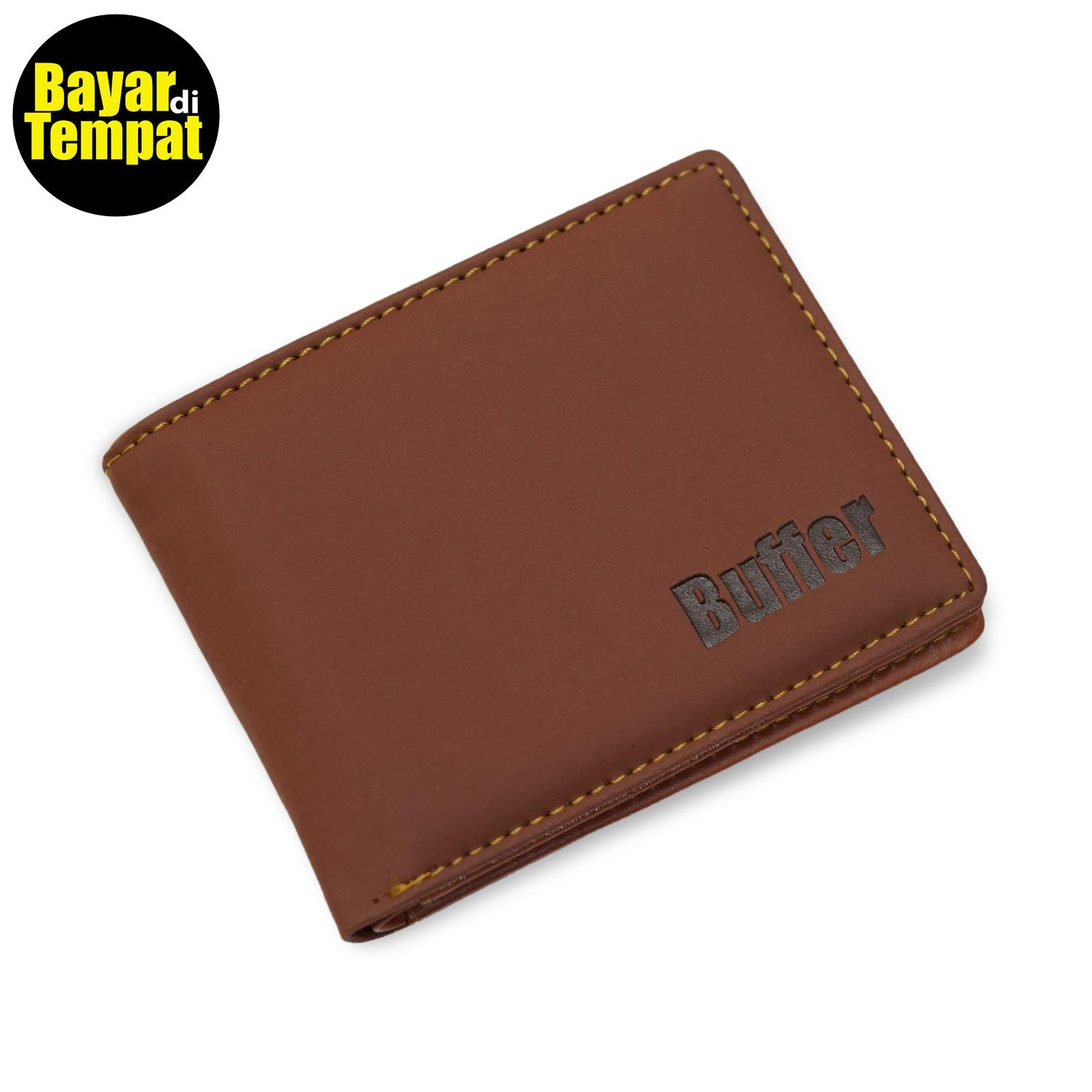 Dompet Fashion Pria 5 Inchi 1878 Kulit Sintetis Simple -Lokal Landscape By Bag Brother.