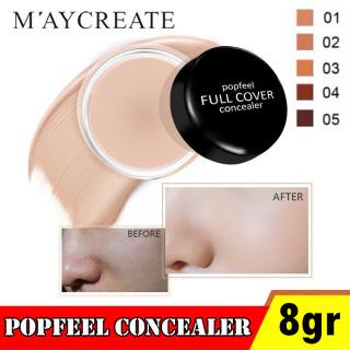 PROMO Popfeel Full Cover Concealer - Popfeel Cream Foundation Full Cover Concealer - Krim Wajah Popfeel Foundation - Popfeel Eyebrow Concealer thumbnail
