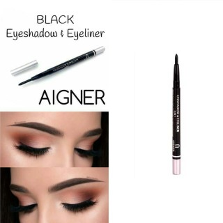 BC_COD_PENSIL PUTAR AIGNER 2in1 - Pensil Alis Eyeshadow & Eyeliner - Warna Hitam thumbnail