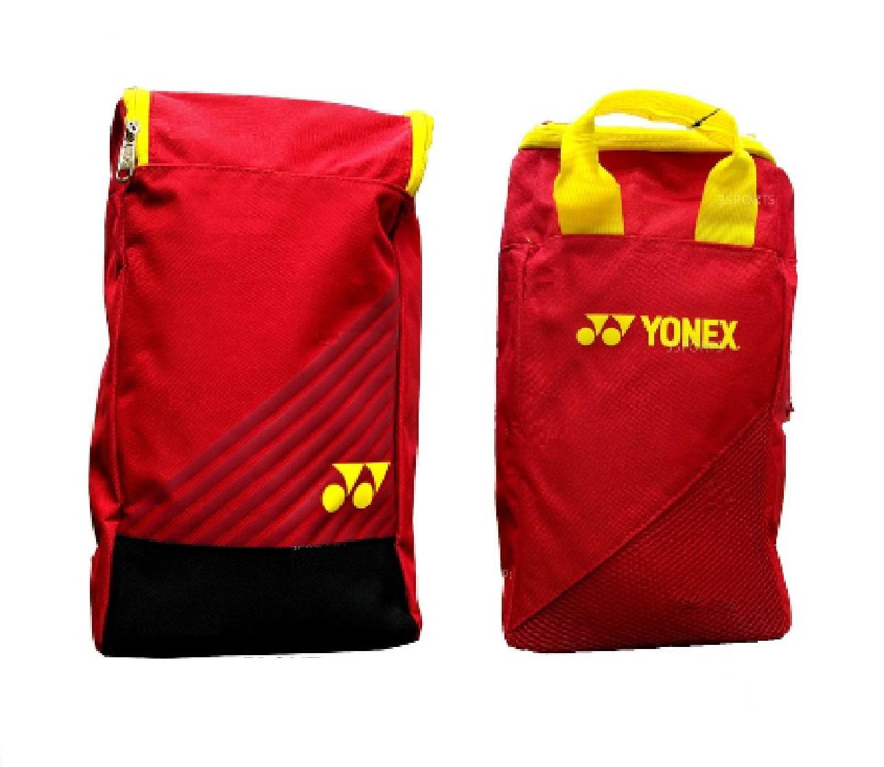 Yonex Shoe Bag Asb01l-S Red Yellow By Yonex Official Store