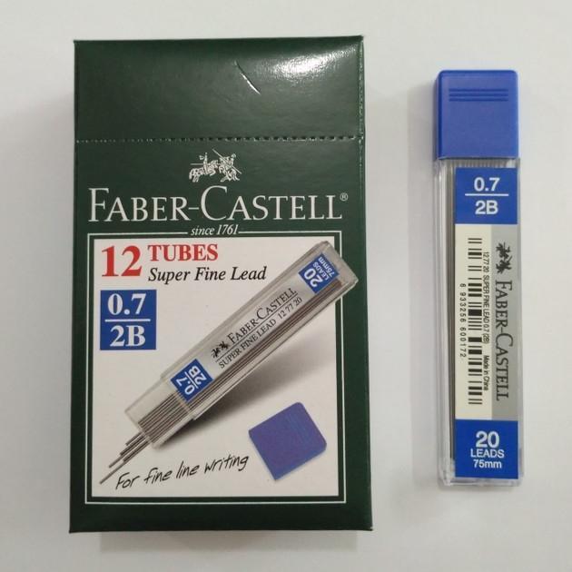 isi pensil Mekanik Lead Superfine 2B 0.7 127720