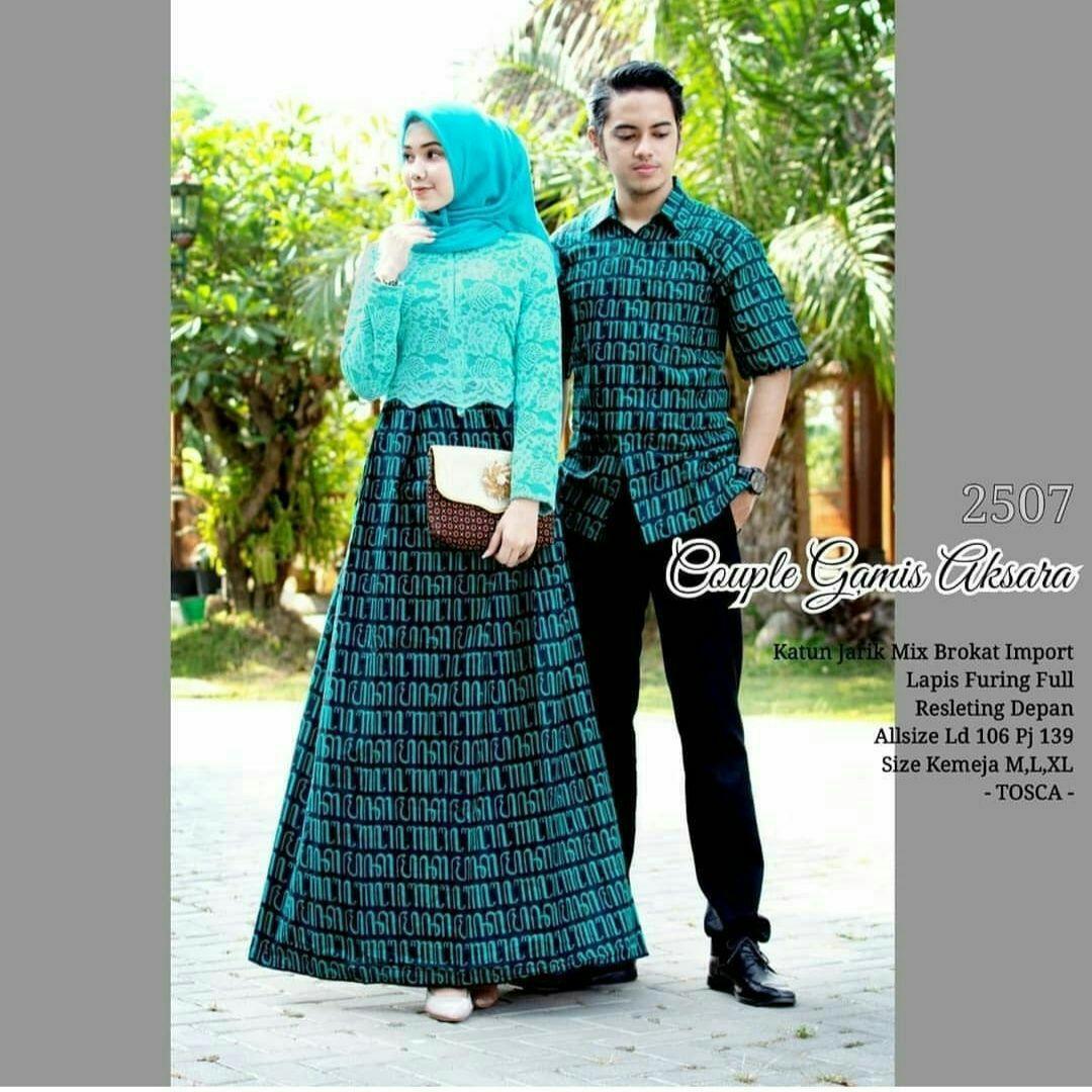 TERMURAH - Batik Couple   COUPLE BATIK   Baju Muslim Wanita Terbaru 2019    Couple Batik 13818e2012