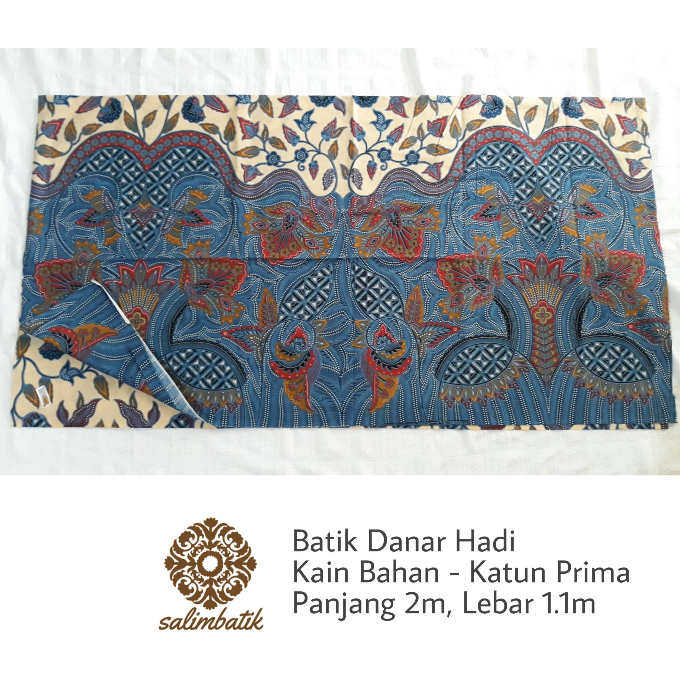 Kain Bahan Batik Danar Hadi Solo Motif 1508