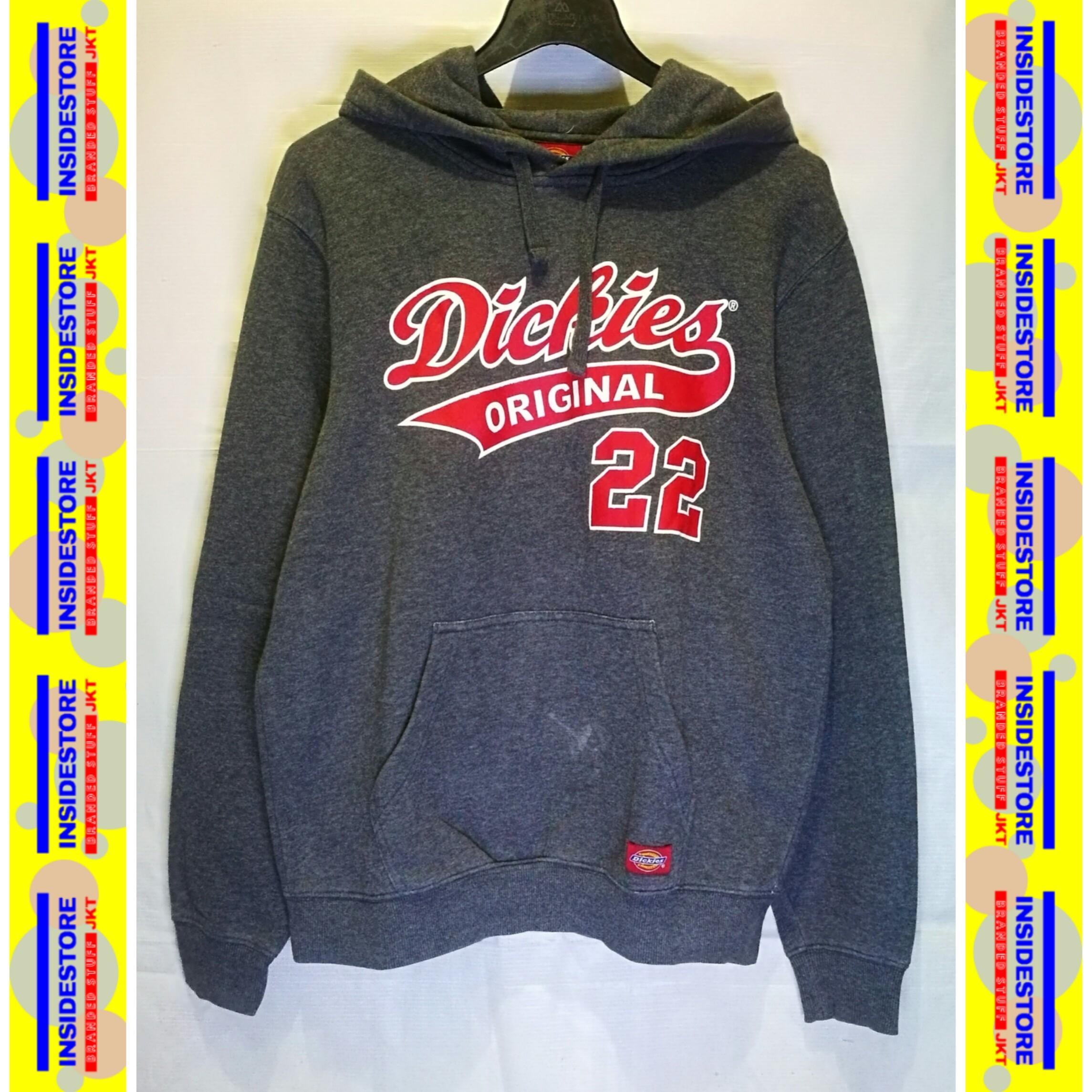 DICKIES Original 22 Grey - Hoodie/Jaket/Sweater Kasual Pria/Wanita (Unisex)