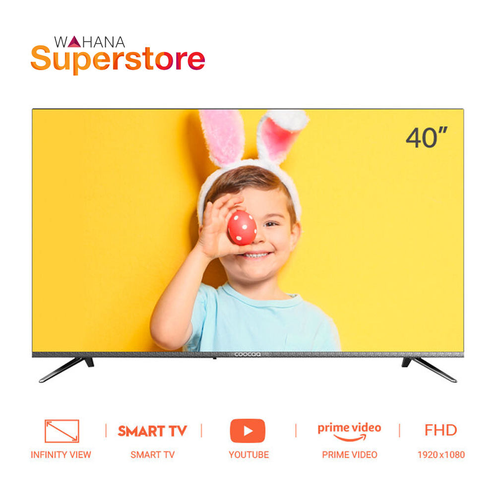 Coocaa Full HD Smart LED TV 40 inch - 40S3C