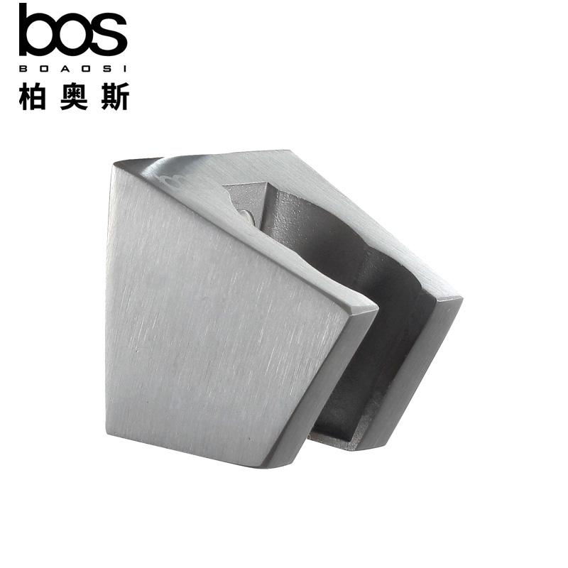 Bos 304 Stainless Steel Shower Holder Bathroom Nozzle Base Shower Fix Seat Adjustable Shower Accessories