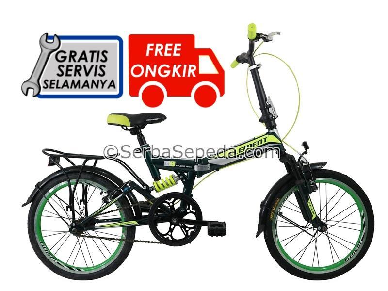 Element Sepeda Lipat 69 Single Speed 20 By Ss Bike Shop.