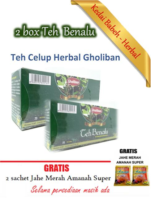 Teh Celup Benalu Gholiban - Teh Celup Herbal - 2 box