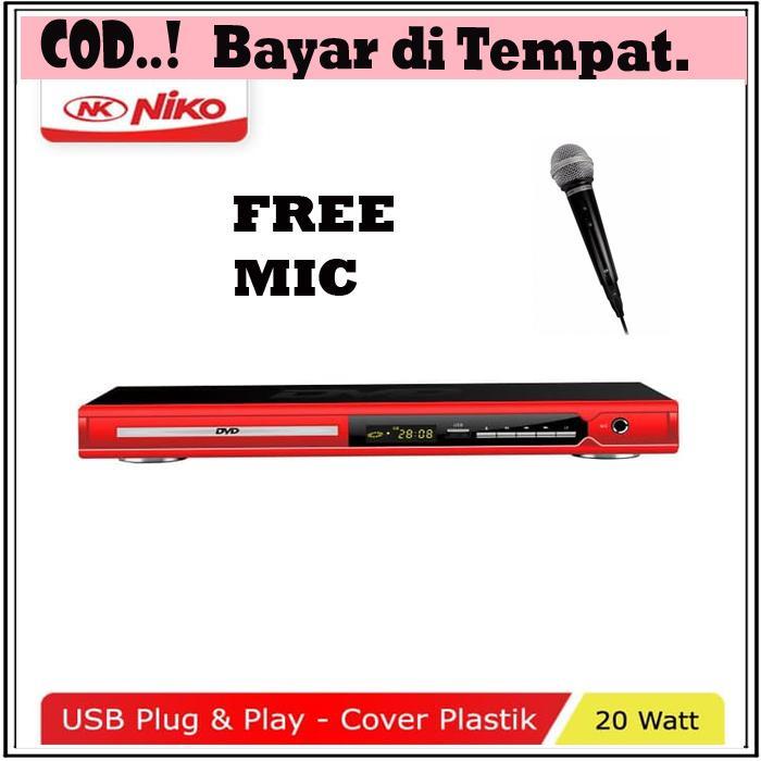 DVD Mp4 Player NIKO NK-189 Optik Samsung FREE MIC