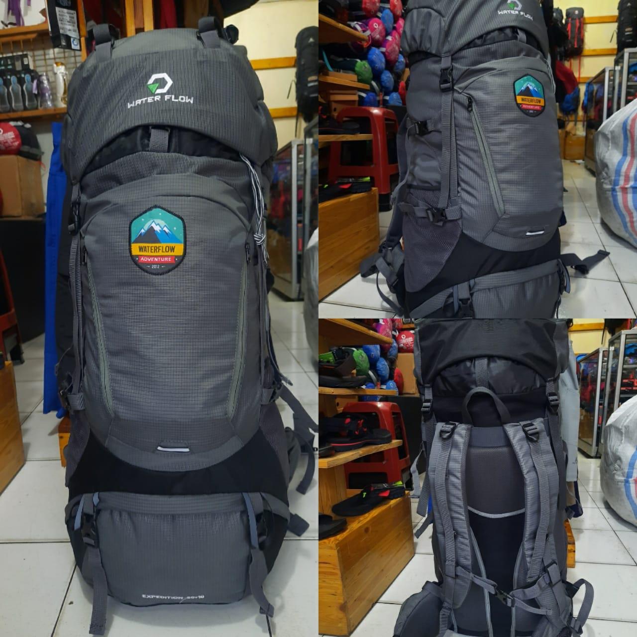 carrier waterflow expedition 50 up 60 liter not rei not eiger not consina tas gunung tas hiking