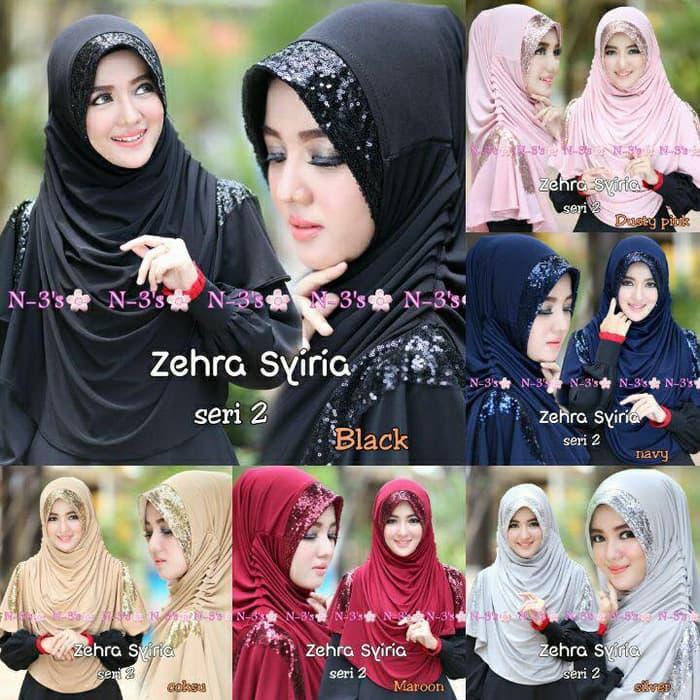 Hijab/Jilbab Syria Zehra / BISA COD