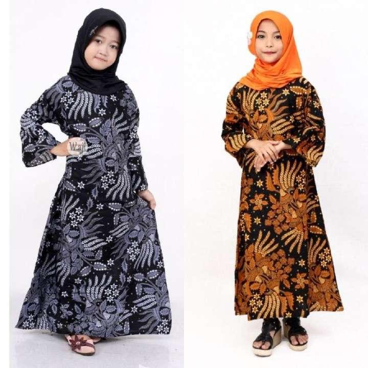 Baju Batik Anak Gamis Batik Anak Terbaru Terlaris Lazada Indonesia