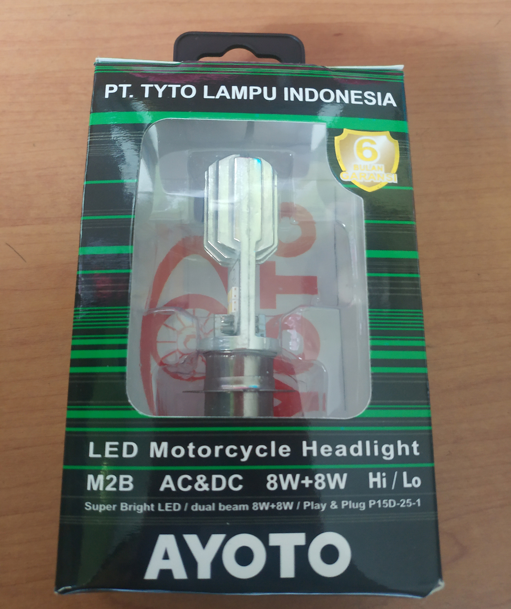 AYOTO Lampu Motor Led 2 Sisi Tipe M2B Motor Bebek Dan Matik By PT TYTO LAMPU INDONESIA