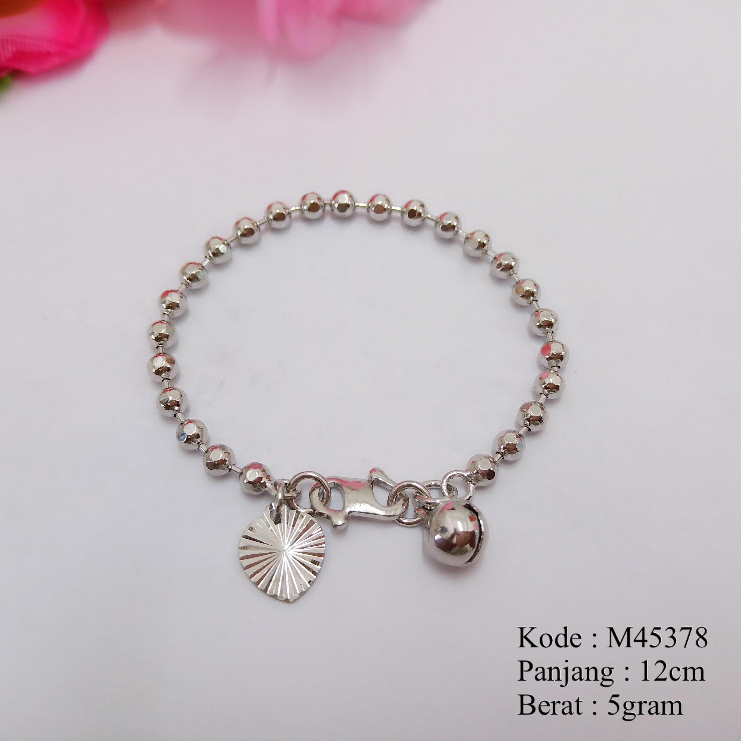 [BAYAR DITEMPAT] Gelang Tangan Anak Bayi Lapis Emas Perhiasan Anak Cantik Xuping Missi M45378