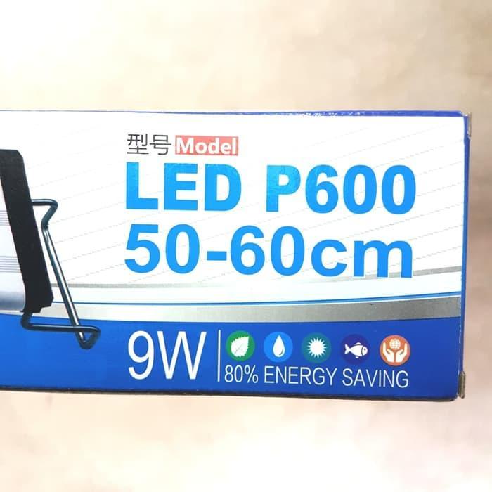 Lampu LED P600, 9watt, utk aquarium 50-60cm