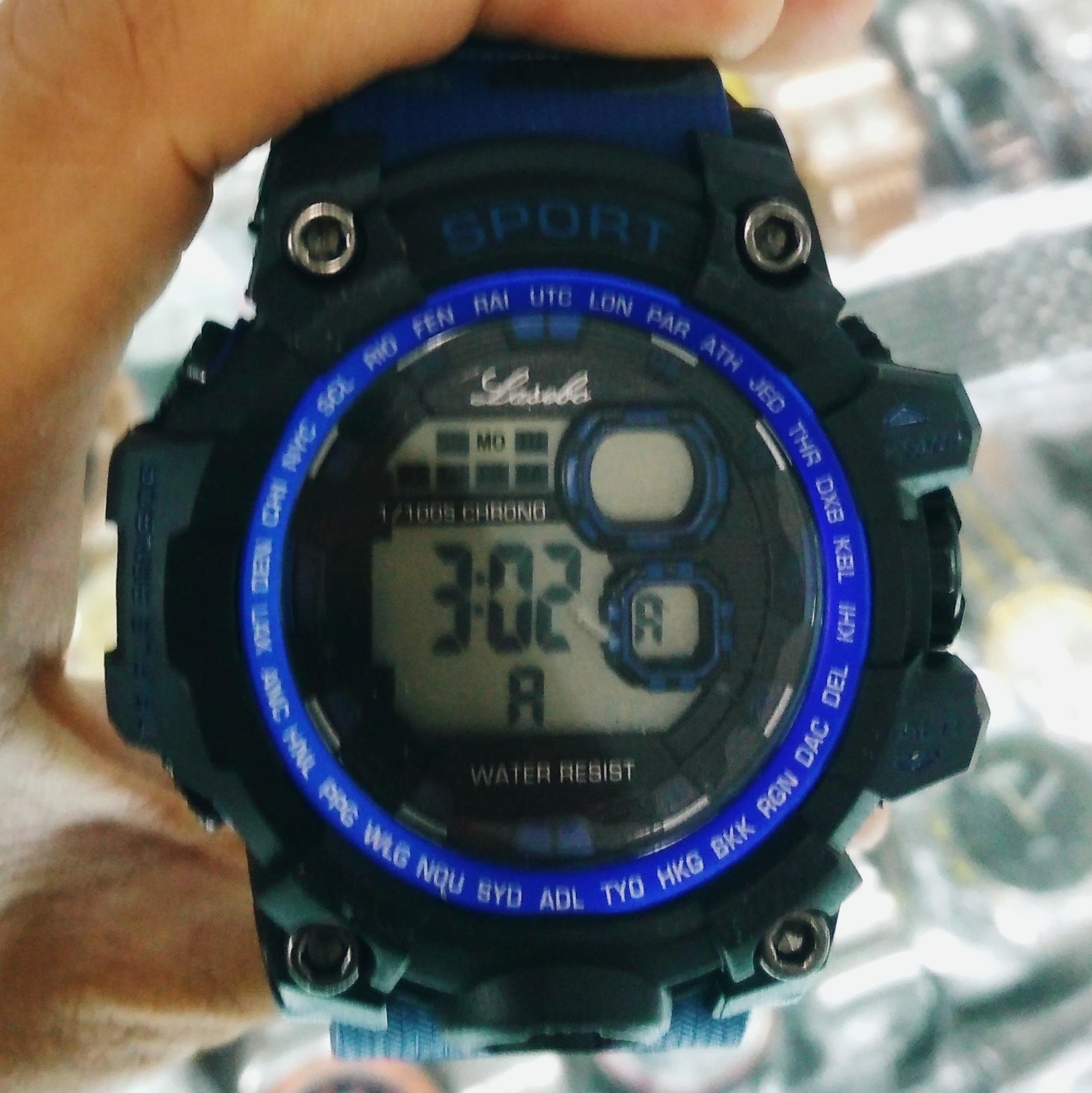 Lasebo Jam Tangan Sport Pria Rubber Strap LSB947425 3 Penilaian Merek