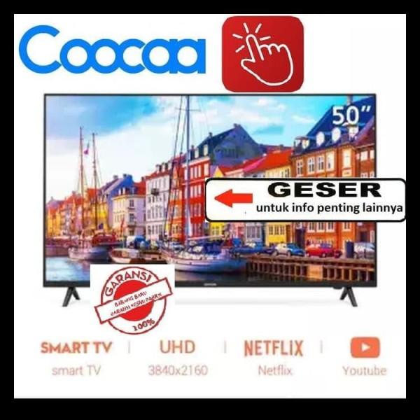 Ready  Coocaa Led Tv 50 Inch 50S3N Smart Tv 4K Ultra Hd Netflix&Youtube