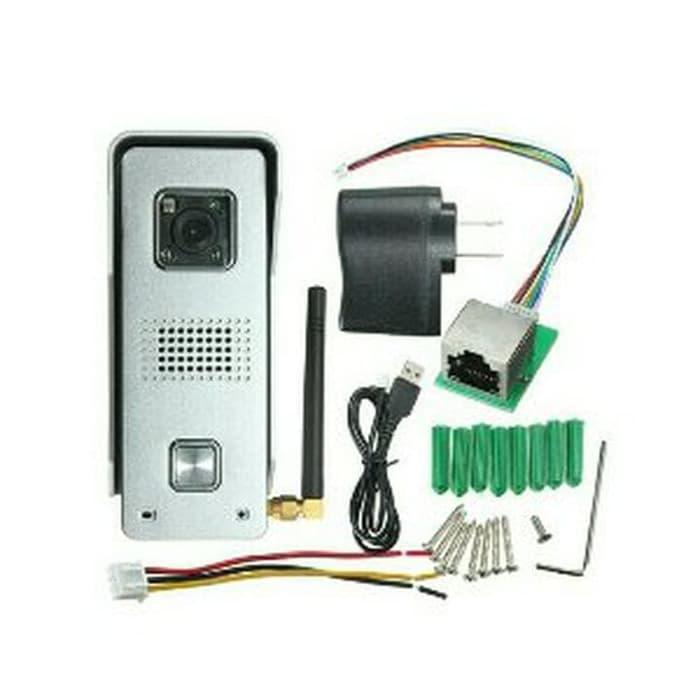 GRESIK video door bell camera wifi kamera pintu alat ke Paling Laris