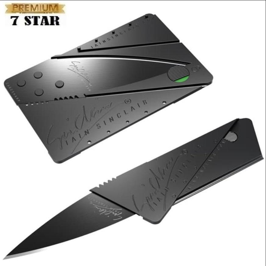 Pisau Survival Mini Atm 7star - Hitam 1 Pcs By 7star Id.