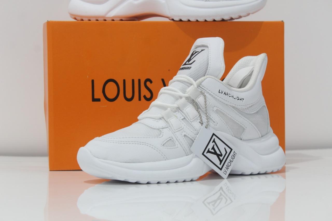 SEPATU Sneakers LV Louis Vuitton PUTIH