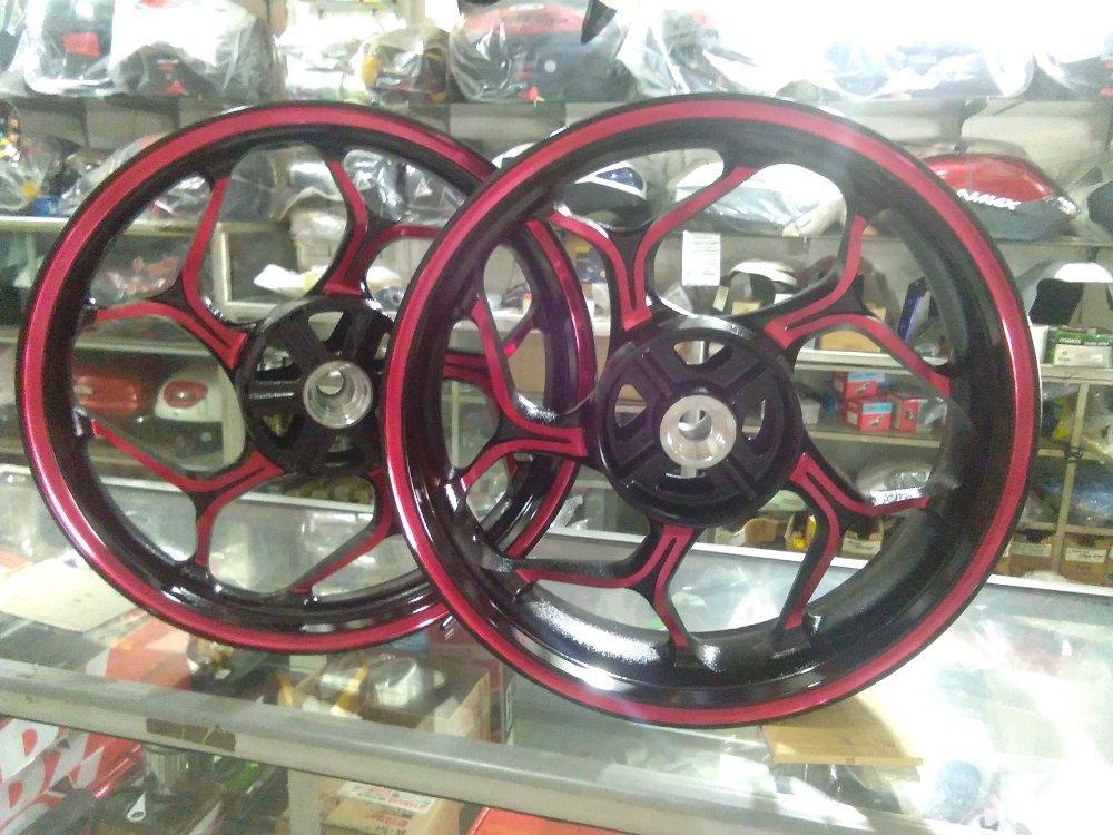 velg racing merek axio buat motor cbr 150 cb150R mega pro new