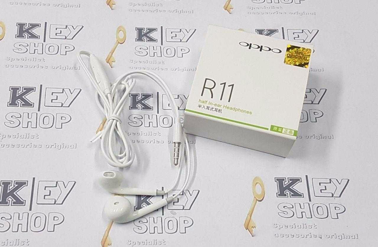 Headset Oppo R11 F1 F1s Original Earphone