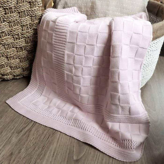 Cotton Knitted Blanket By Tokosurya2547.