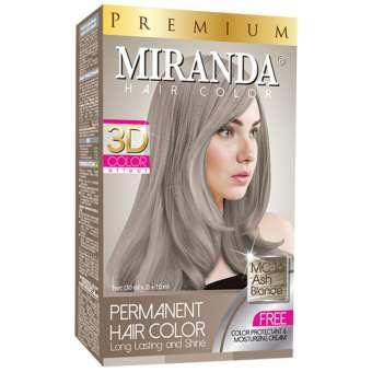 LOKA COD - Miranda Permanent Hair Color Cat Rambut MC-16 - Ash Blonde f5d68505fd