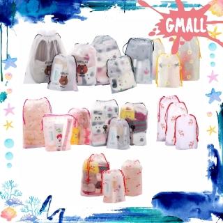 GiantMall - R080 Tas Kosmetik Line Transparan MakeUp Anak Sekolah Travel Bag Wanita Fashion thumbnail