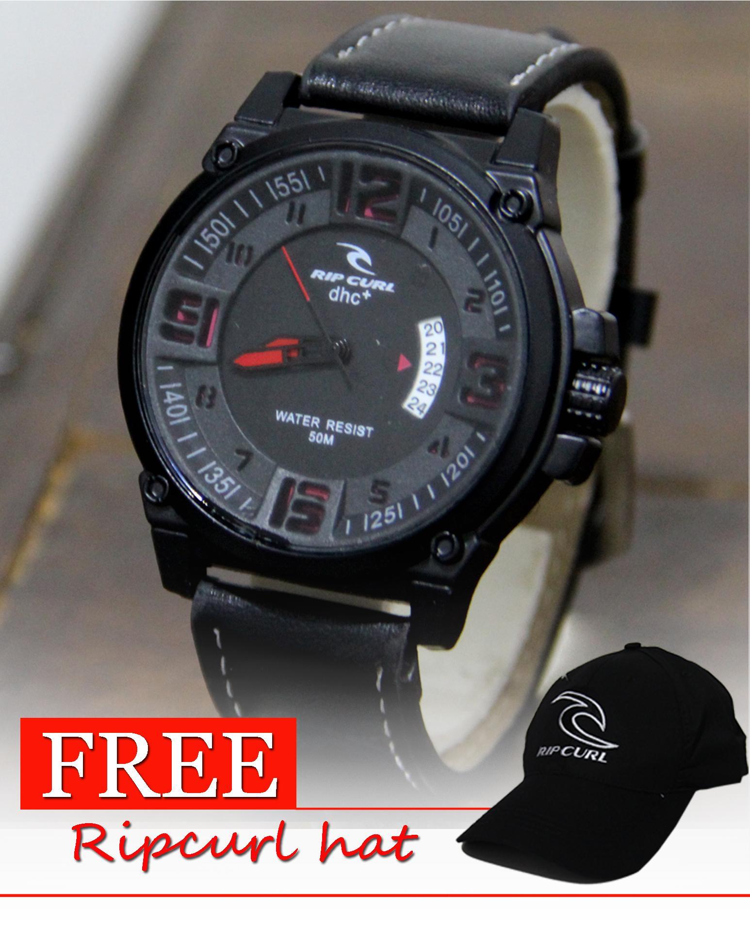 JAM TANGAN PRIA Ripcurl swiss Army Outdoor watch - Jam Tangan Fashion Pria - Tanggal bulan