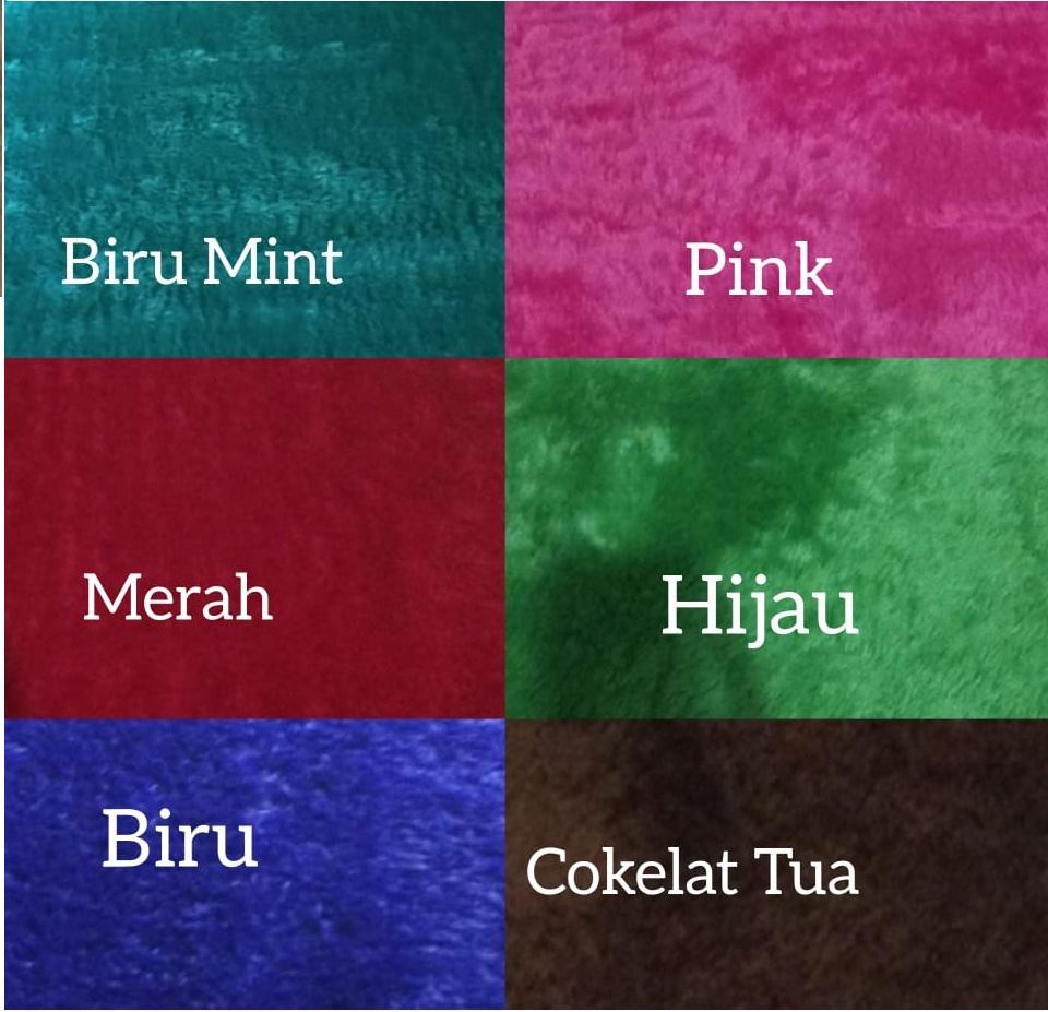 SAJADAH BUSA TEBAL 5cm bulu lembut/Rasfur+free tas sajadah