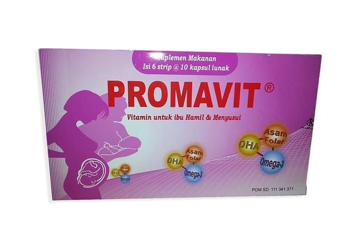 PROMO Promavit / Strip Isi 10 Kapsul Vitamin Ibu Hamil / Menyusui - ZnQELPLL
